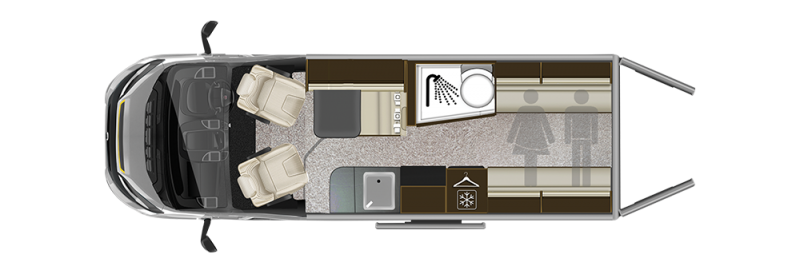 campervan layout