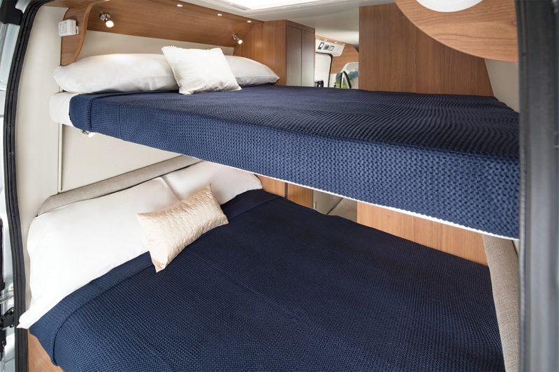 bunk beds in motorhome