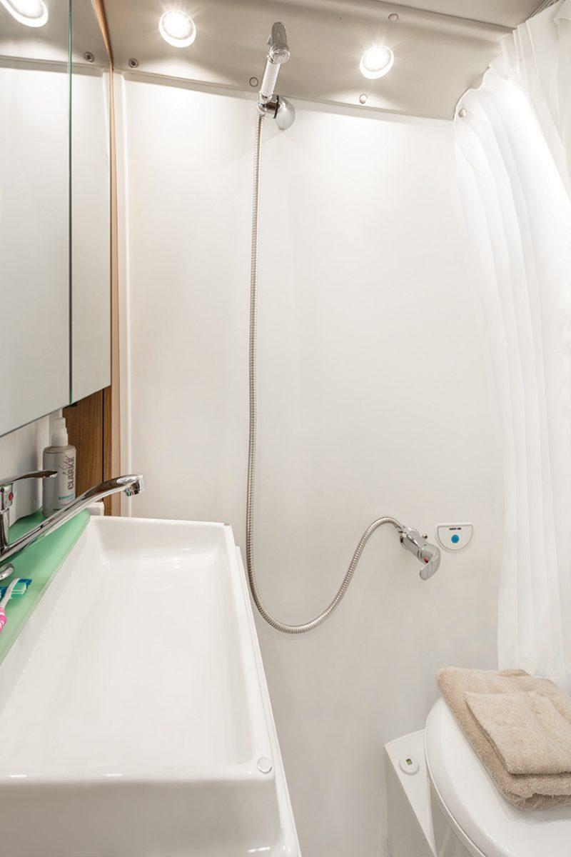 motorhome shower