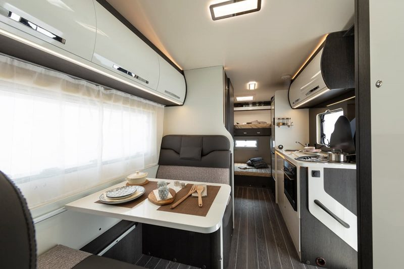 interior view of motorhome